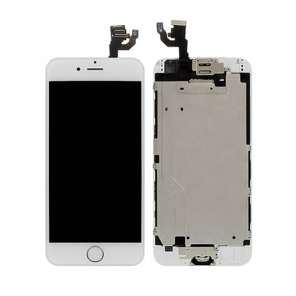 11935e50797 Apple - Pantalla iPhone 6 LCD+Táctil (Blanco) - LAPTRONIC | La ...