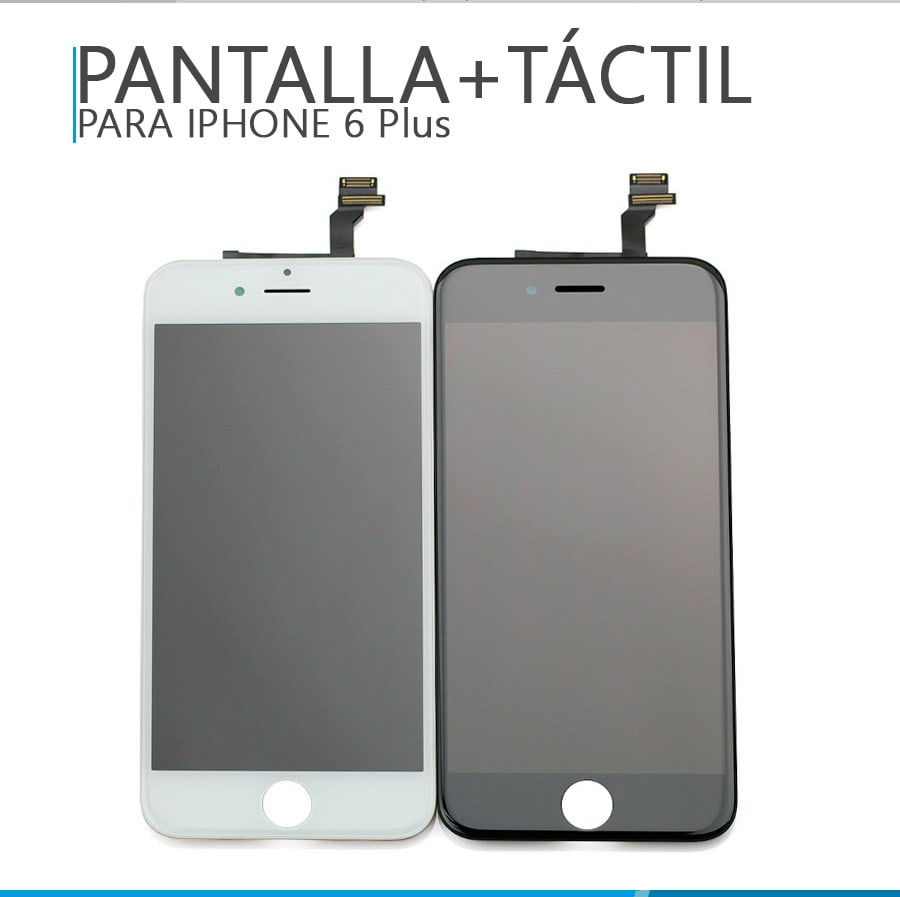 apple pantalla iphone 6 plus lcd t ctil blanco. Black Bedroom Furniture Sets. Home Design Ideas
